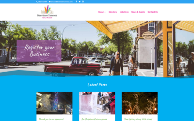Downtown Camrose Website Launched